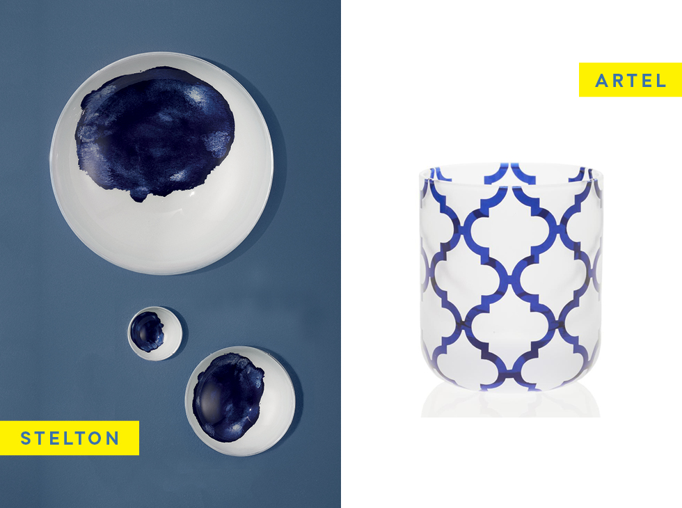 HOBNOBMAG Home Accessories for Summer in blue