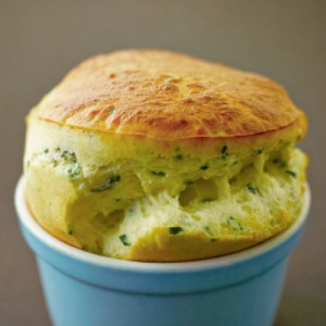 A Savory Souffle from A Lighter Way to Bake by Lorraine Pascale