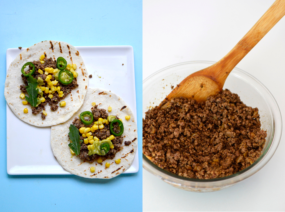 HOBNOBMAG Taxo Recipe Chipotle Infused Ground Beef